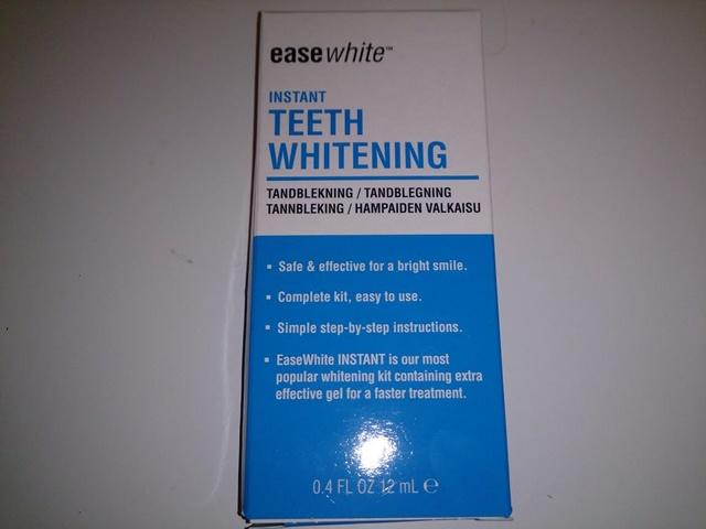 ease white teeth whitening tandblekning