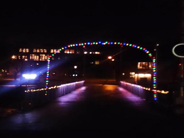 allt ljus på uppsala stadsträdgården