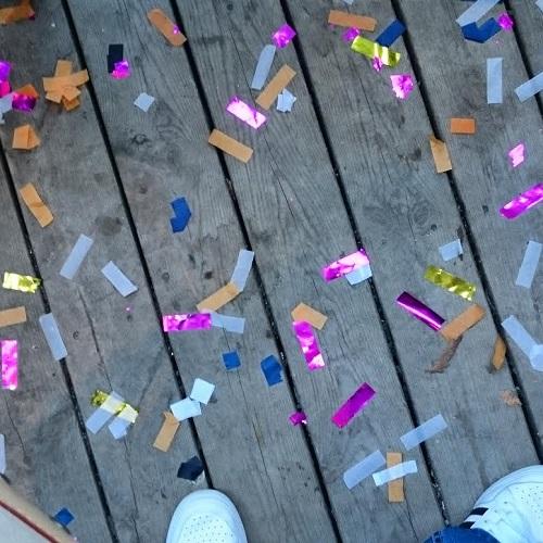 Confetti Flustret Uppsala