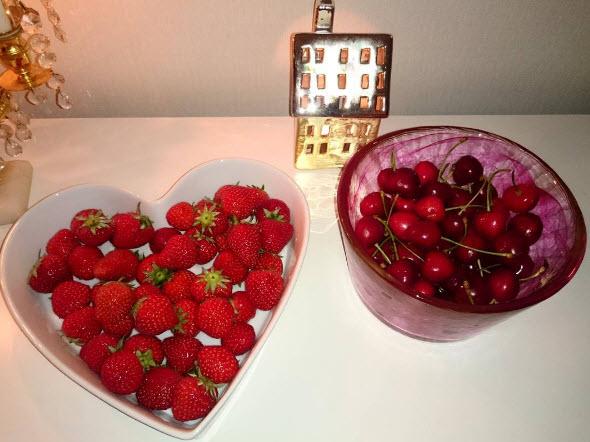 jordgubber frukt